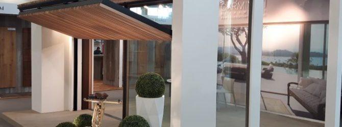 Vista dello stand fieristico della Carminati a Londra e Dubai