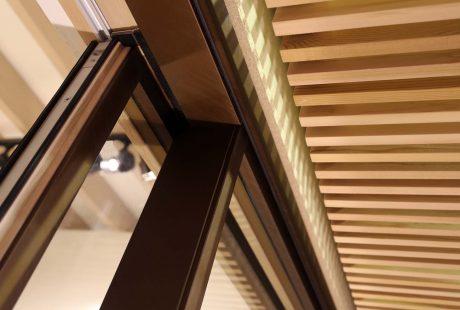 Skyline System con finitura legno-alluminio, immagine cinque