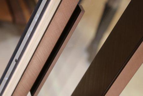 Skyline System con finitura legno-alluminio, immagine quattro