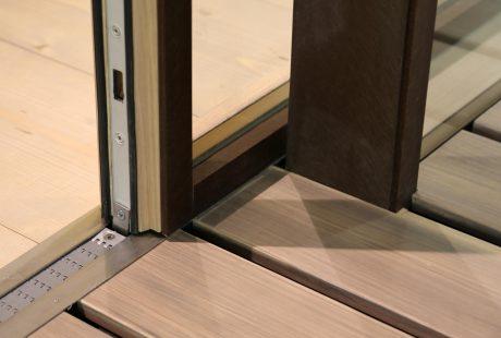 Skyline System con finitura legno-alluminio, immagine sei