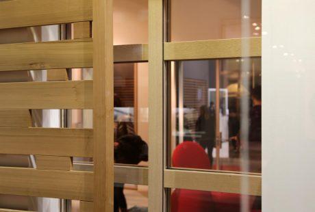 Skyline System con finitura legno, immagine quattro
