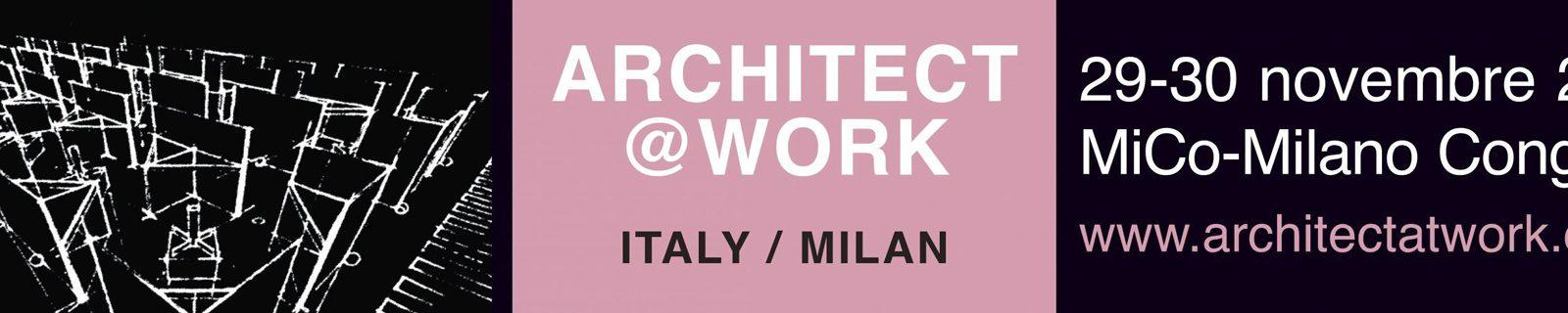 Architect at Work a Milano, immagine di copertina