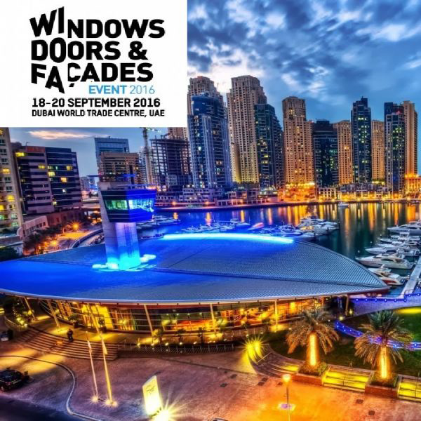 Windows Doors and Facades Dubai 2016, immagine principale
