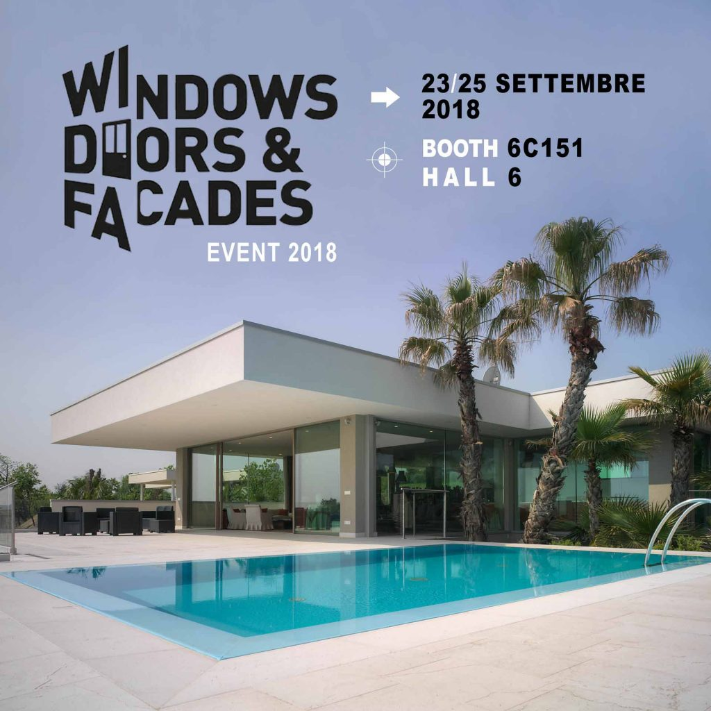 Windows, Doors and Facades 2018, immagine principale