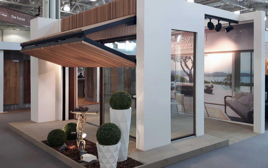 100% Design Londra, stand Carminati del 2016