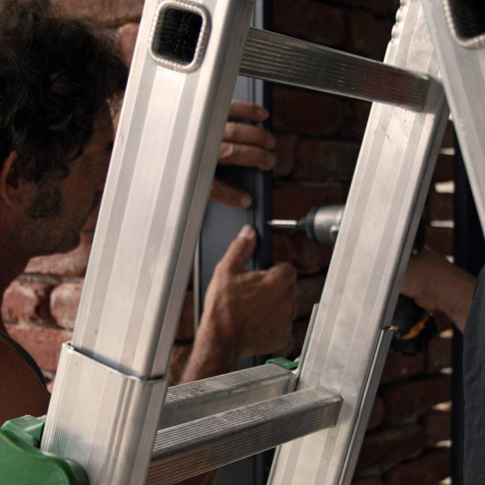 Opere di posa e installazione dei serramenti Skyline
