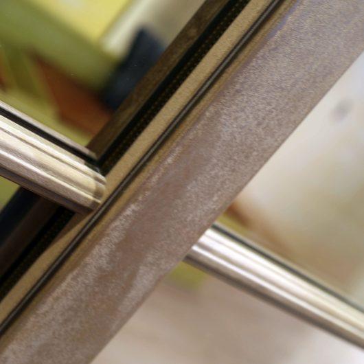 Skyline Classic, dettaglio del profilo in legno