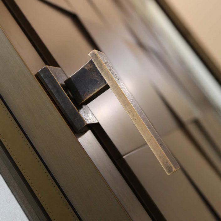 Maniglia per finestre Linea Vittoria in bronzo