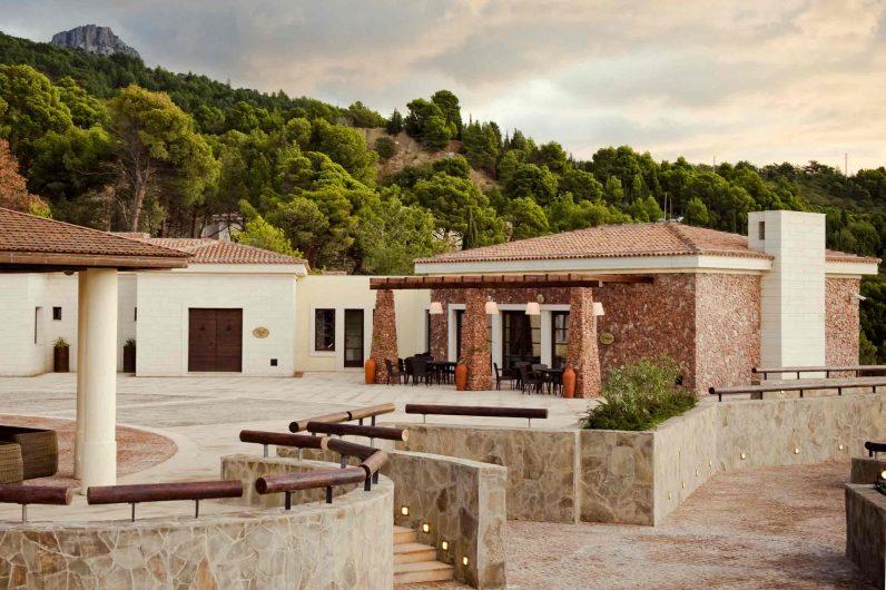 Vista del patio tra le residenze Crimea Breeze