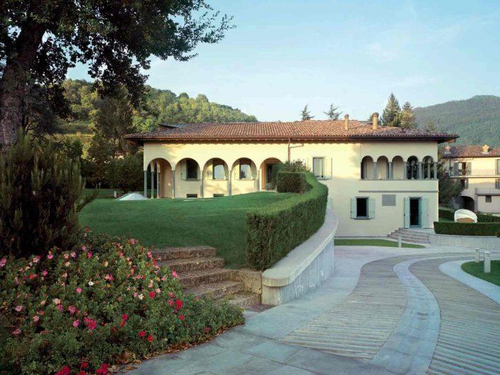 Vista di Villa Bergamo
