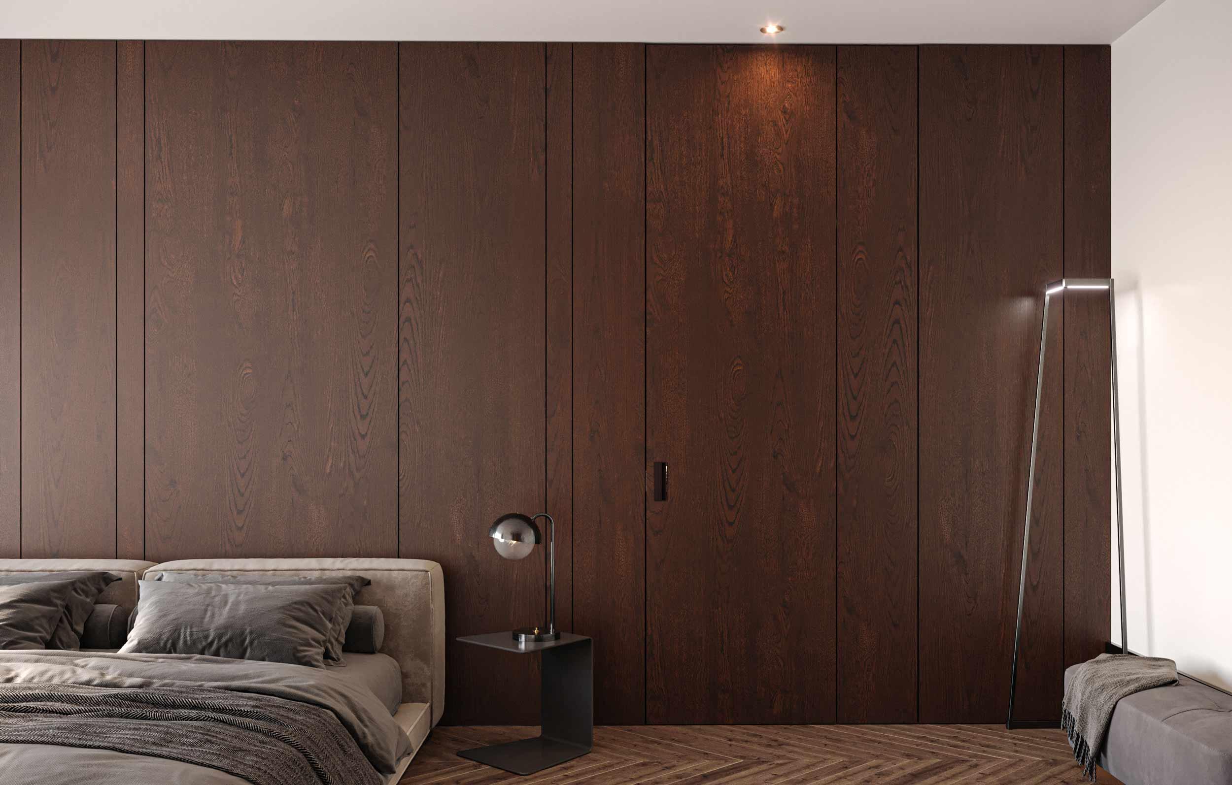 Porta interna in legno Carminati