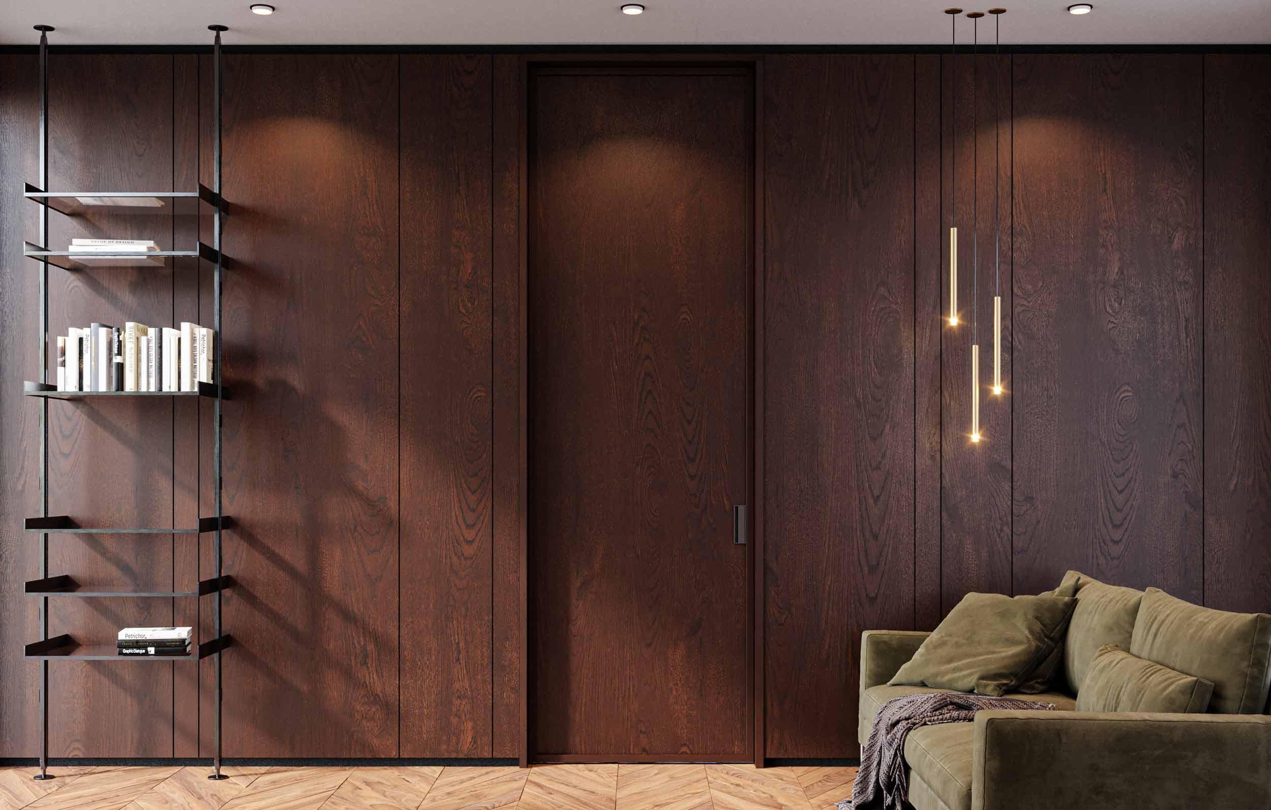 Porta in legno Carminati
